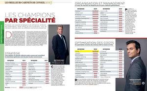 Les Champions par spécialité. Capital.